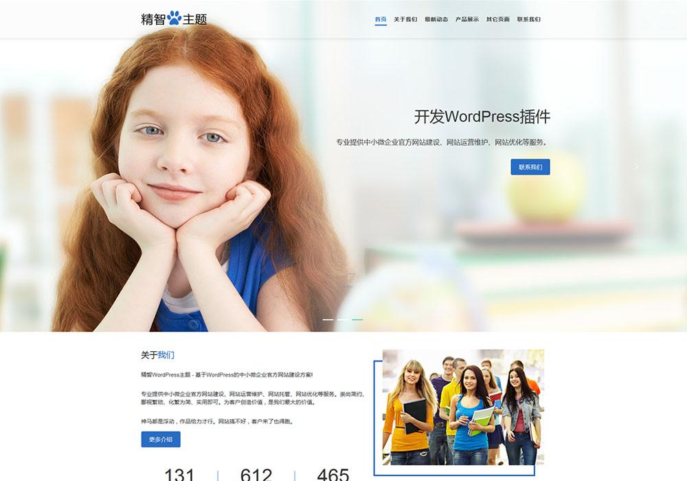 大图教育公司wordpress主题